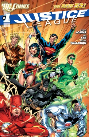 Justice League #1: review/download