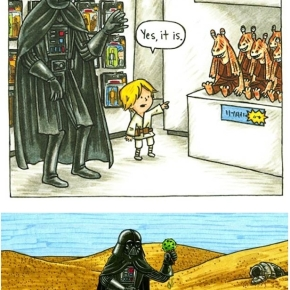 Genial: If Darth Vader had been a good father…