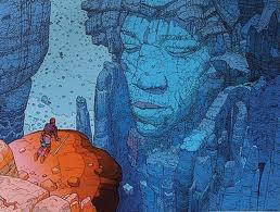 Jimi Hendrix por Moebius ou a arte unindogênios