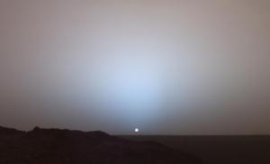 Atardecer-en-Marte