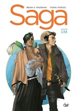 Saga de Brian K. Vaughan e Fiona Staples- volume 1: resenha comcointreau